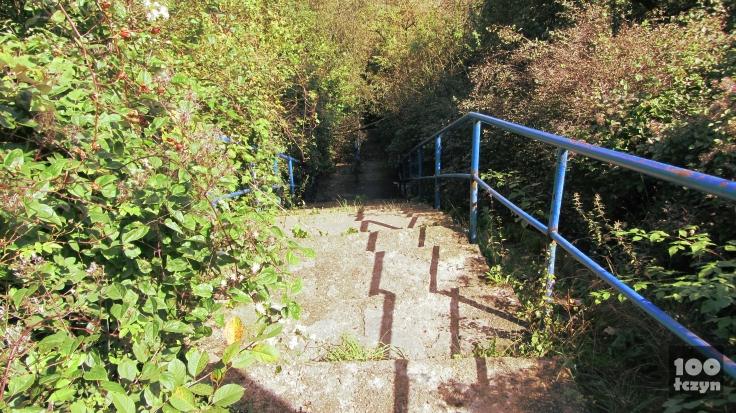 schody na Zamkniętą