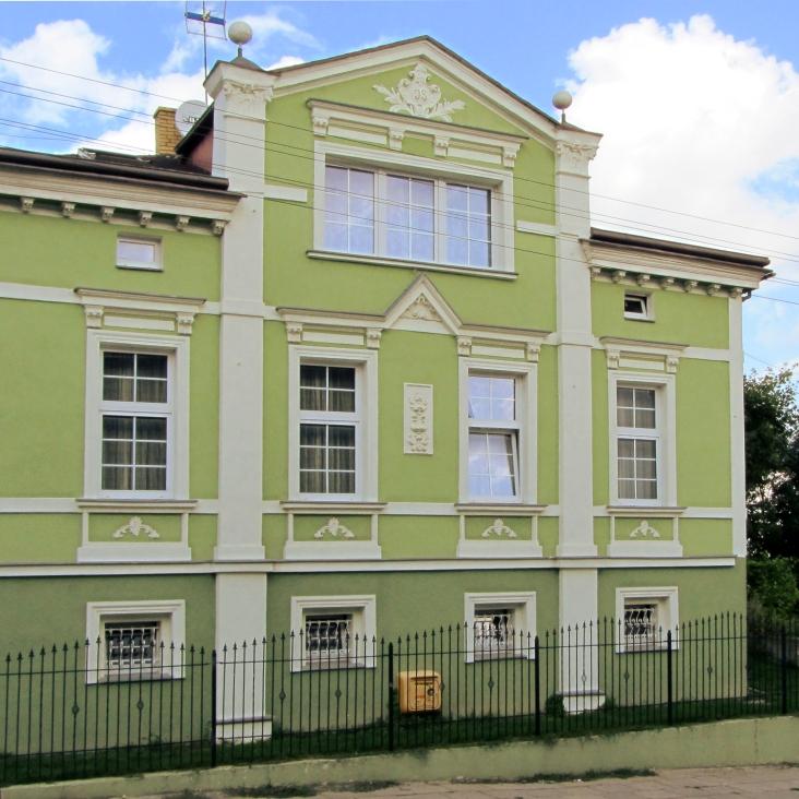 Zadbany budynek przy ul. Kościelnej